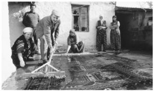 Traditional Rug Washing