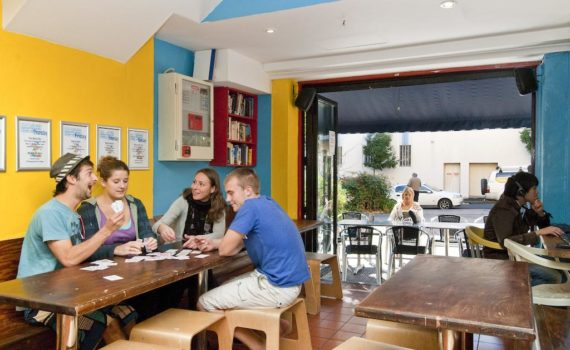 Backpackers Sydney Eating Area